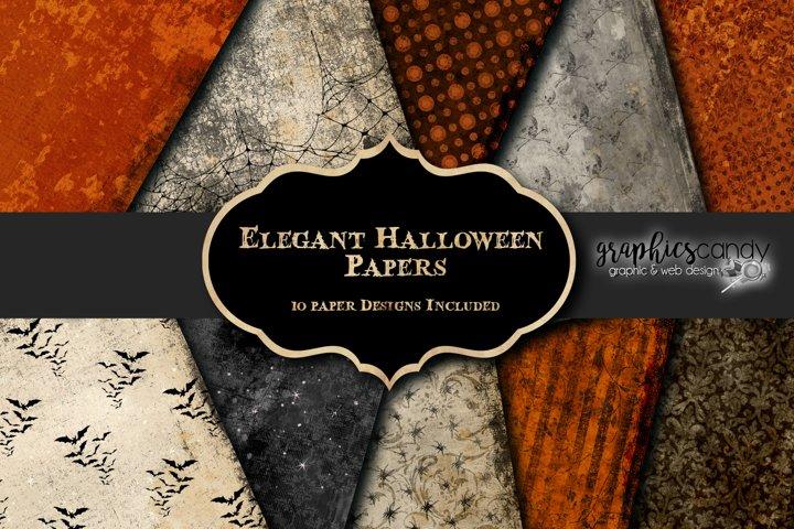Elegant Halloween Papers