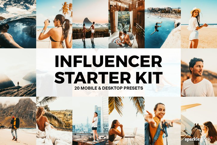 Travel Influencer Starter Kit - 20 Lightroom Presets