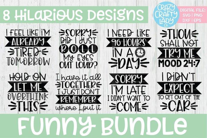 Funny Bundle SVG DXF EPS PNG Cut File