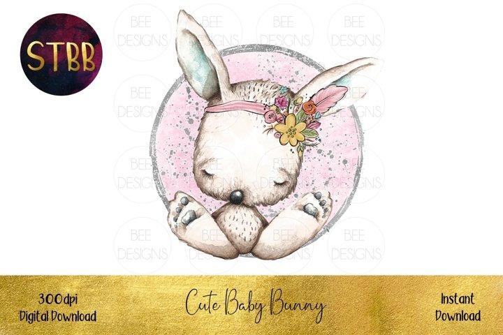Cute Baby Bunny Image