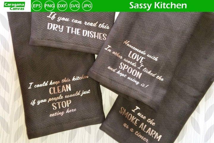 Sassy Kitchen