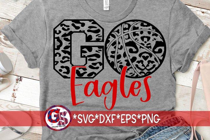 Go Eagles Basketball SVG DXF EPS PNG