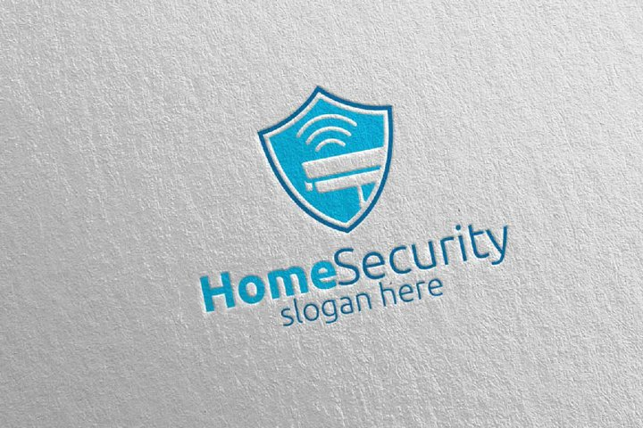 Camera CCTV Home Security Logo 6