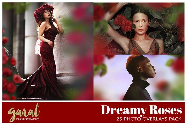 50 DREAMY ROSES Photo Overlays