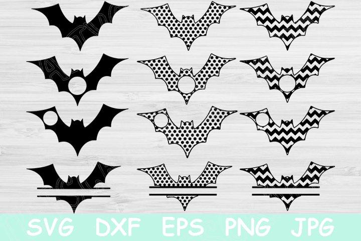 Spooky Halloween Bat Svg, Halloween Svg Files for Cricut.