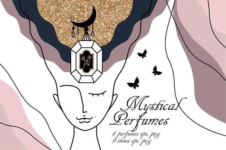 Mystical Perfumes set