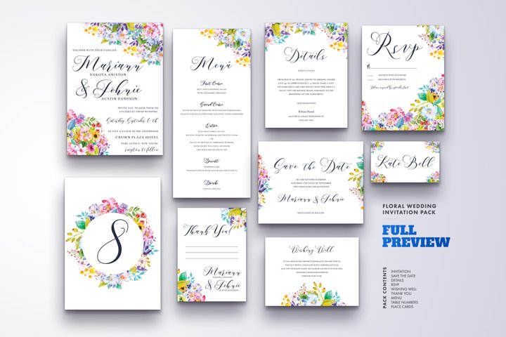 Wedding Invitation Suite Vol.5 / Save Date / Bride