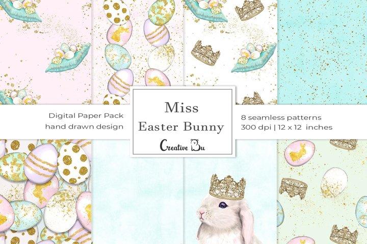 Miss Easter Bunny- Digital Pattern
