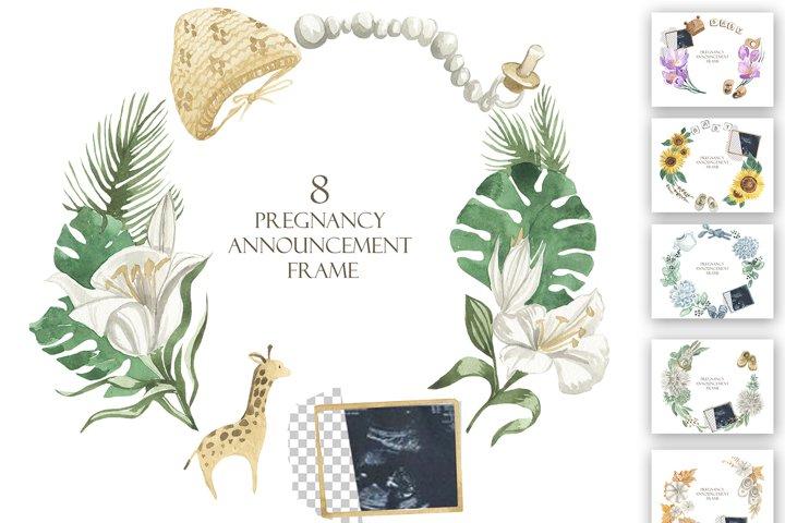 Pregnancy Announcement Frame