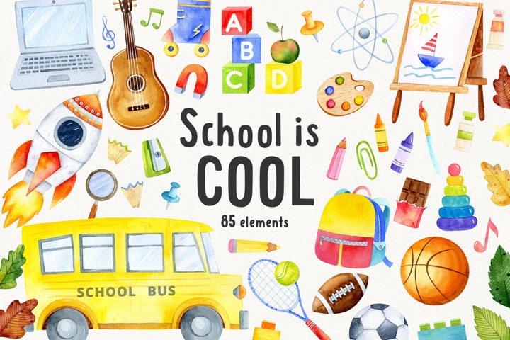 School is Cool. Back to School set