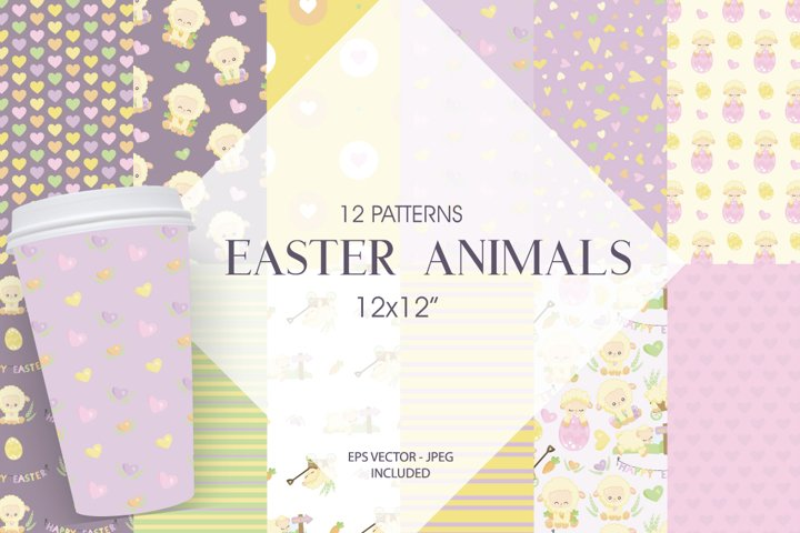 Easter Animals Graphic & Illustration