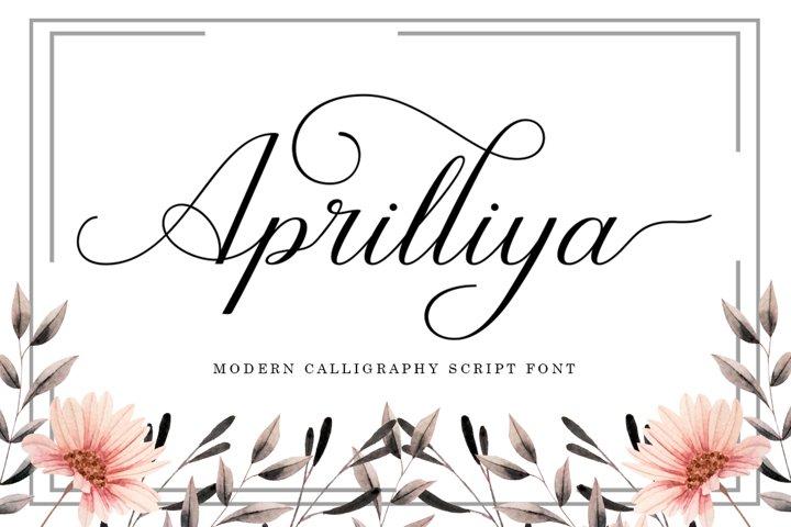 Aprilliya Script
