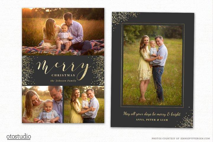 Christmas Card Template for Photographers CC199
