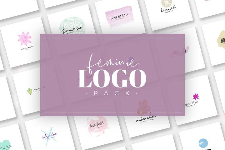 Feminine Logo Pack