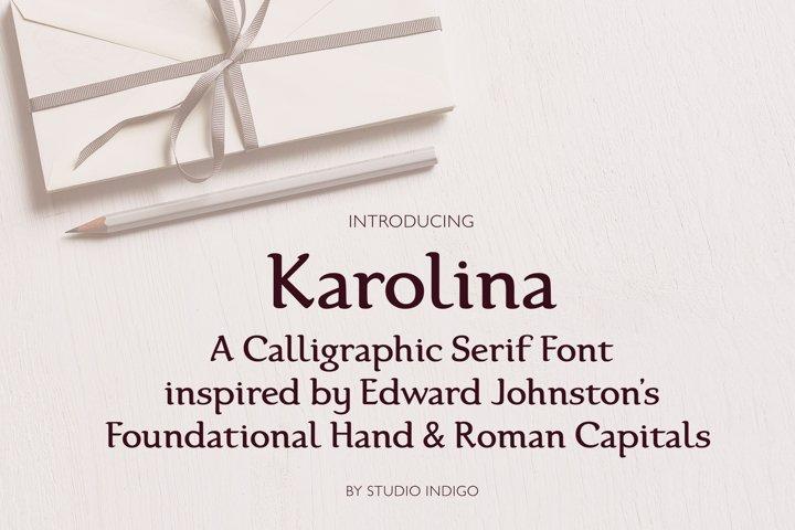 Karolina Serif Font