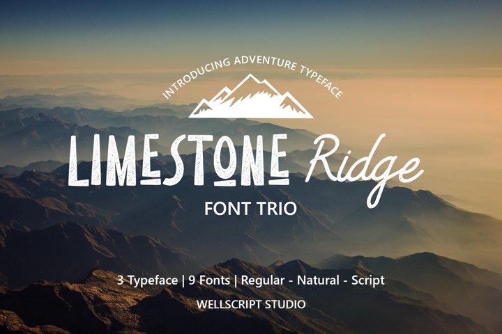 Limestone Ridge - Trio Adventure Font