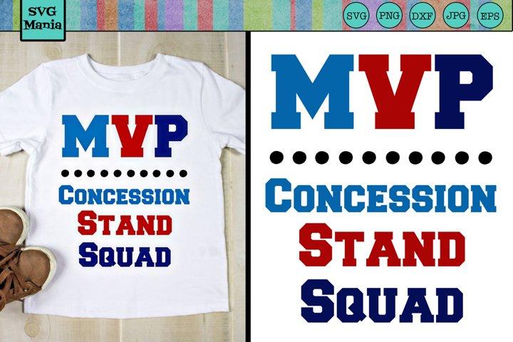 Baseball Brother Concession Stand SVG, Softball Brother SVG
