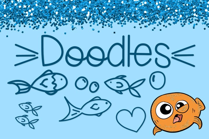Fish Face - A Really Fun Handwritten Font - Free Font of The Week Design4