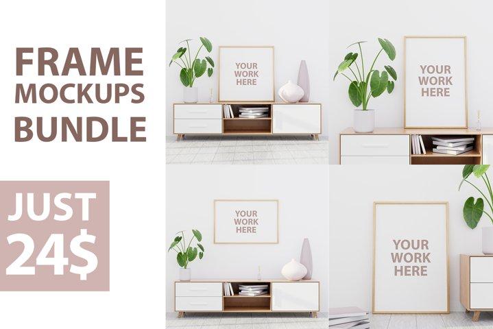 Frame mockups bundle 1