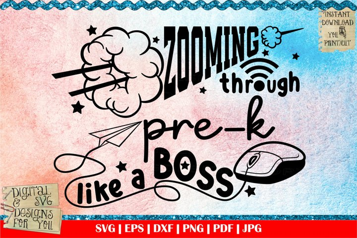 Zooming through Pre-k like a boss | Masked and ready | Zoom
