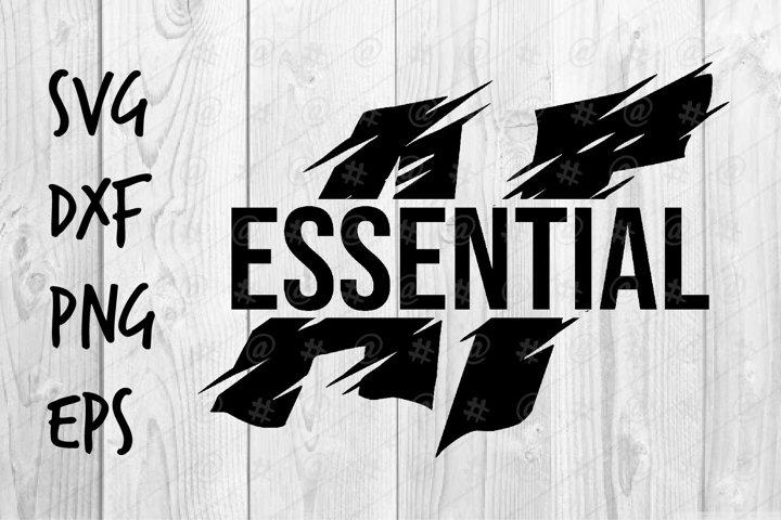 Essential AF SVG design