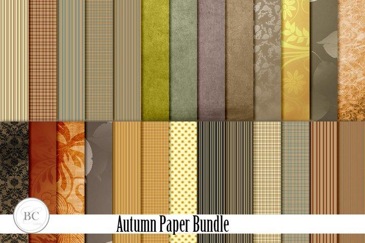 Autumn Paper Pack