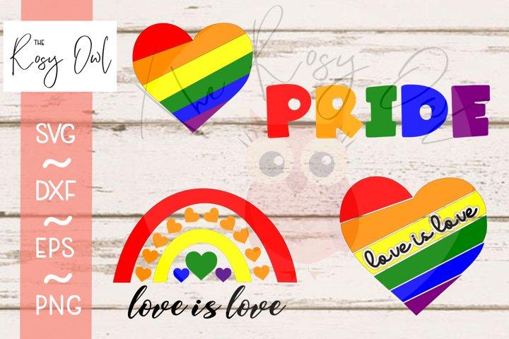 Pride Bundle Digital Cut Files