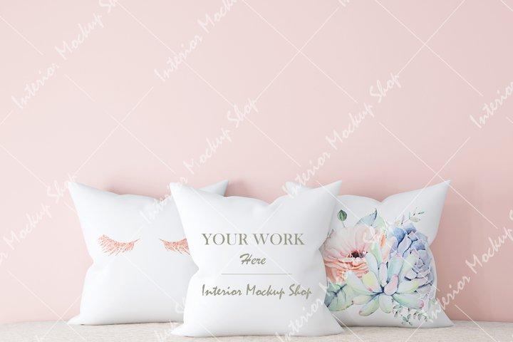 Pillow Mockup, White Pillow Mockup\ 54