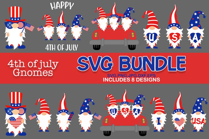 4th of July Gnomes svg, Patriotic Gnomes svg, gnomes svg