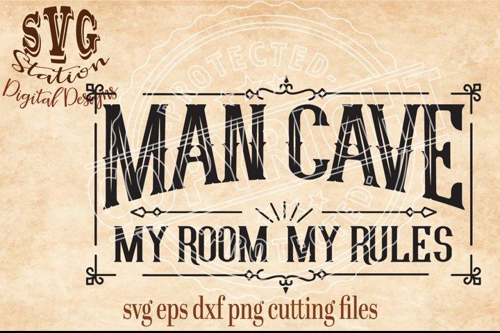 Man Cave Cut File