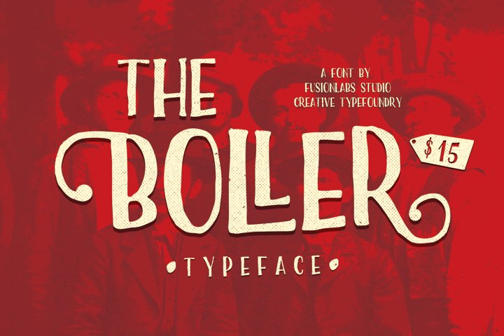 The Boller Typeface - Free Font of The Week Font