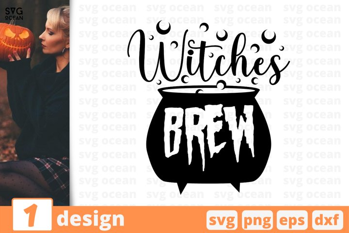 WITCHES BREW SVG CUT FILE | Halloween cricut | Witch svg