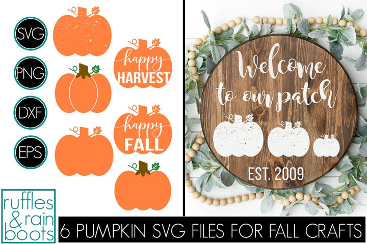 9 Pumpkin SVG Files for Fall Crafts and Gifts
