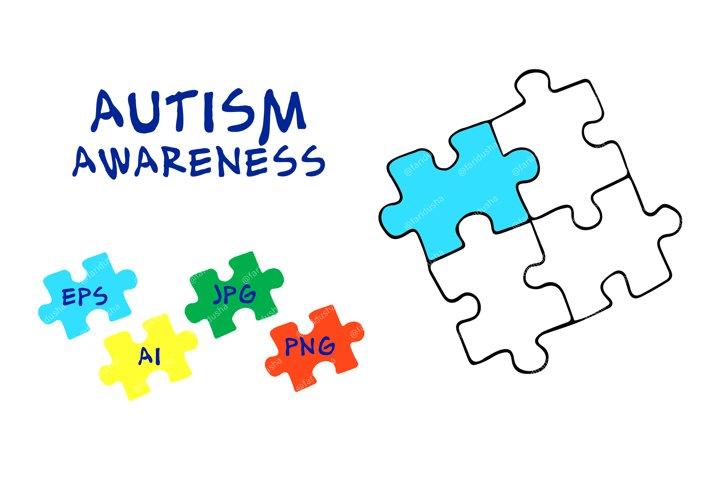 Autism awareness. Logo