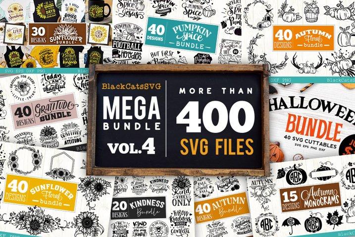 Mega Bundle 400 SVG designs vol 4