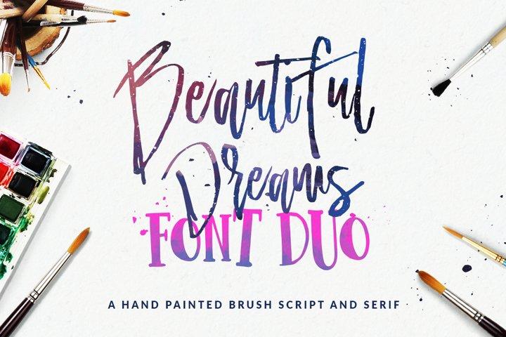 Beautiful Dreams - Font Duo