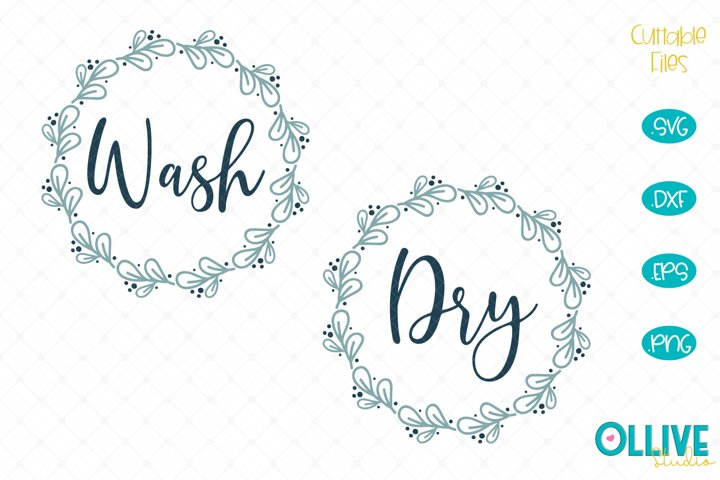 Wash and Dry Laundry Svg