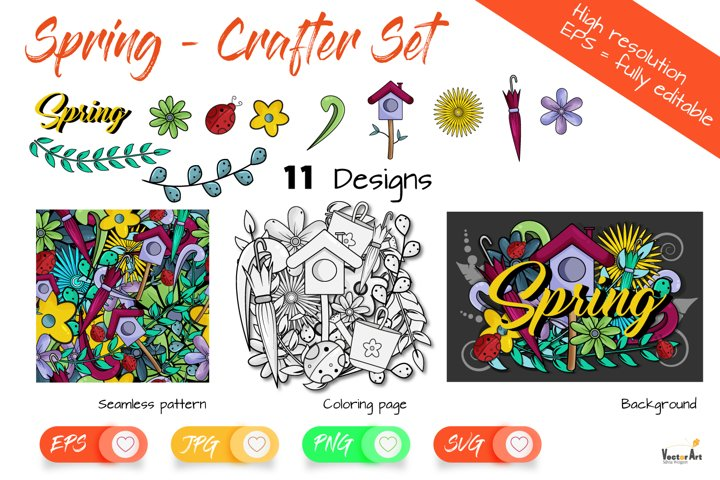 Spring Bundle - For Crafters