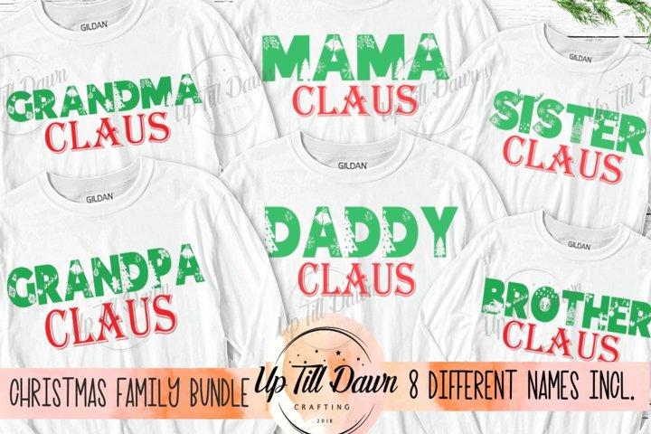 Christmas Family SVG Bundle