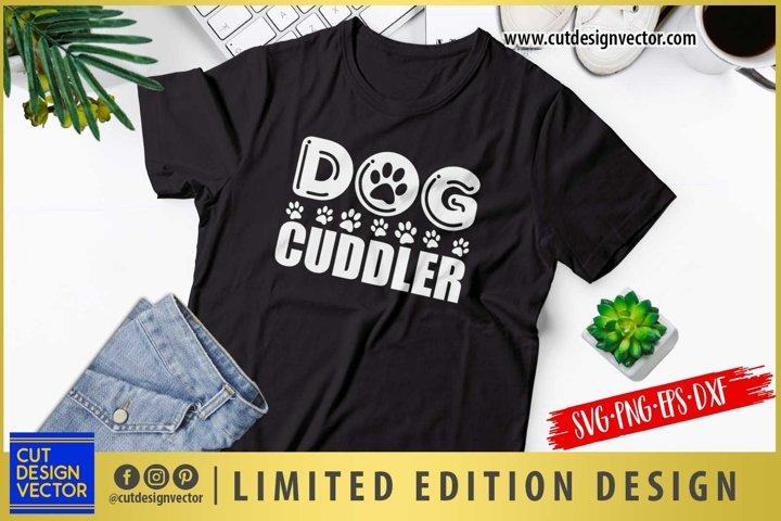 Dog Cuddler SVG