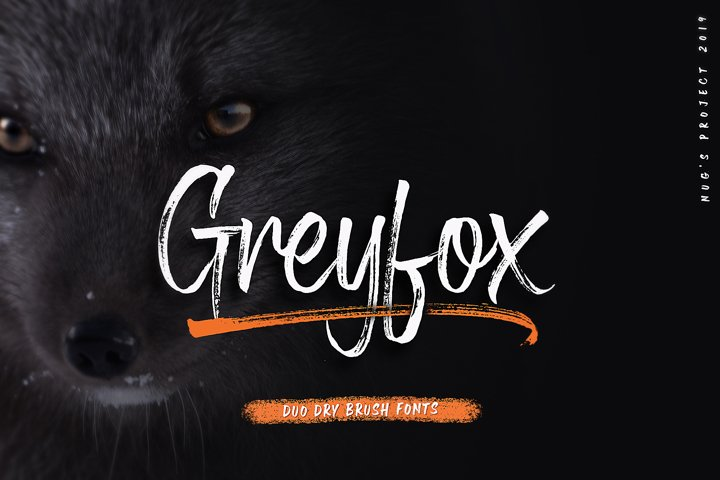 Greyfox Duo Dry Brush