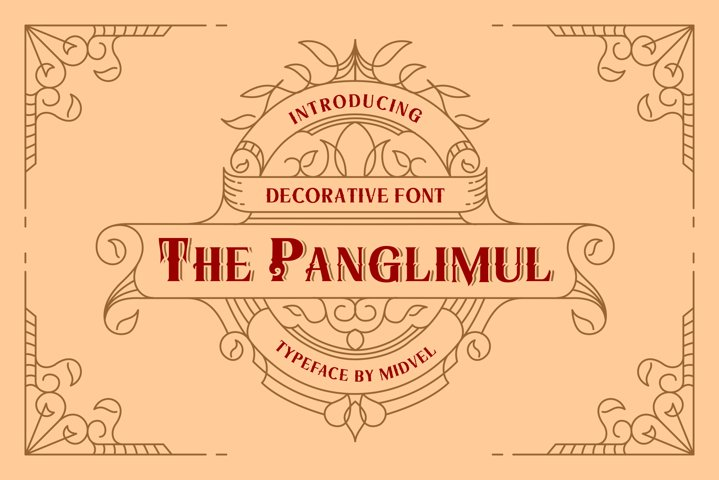 The Panglimul - Decorative Font
