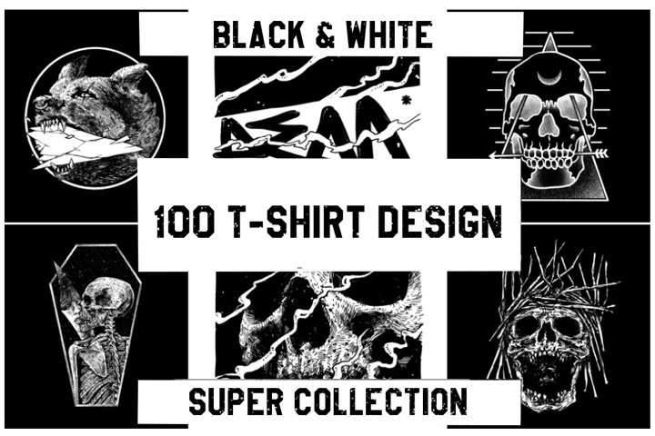 SPECIAL OFFER! 100 T-Shirt Design Super Collection
