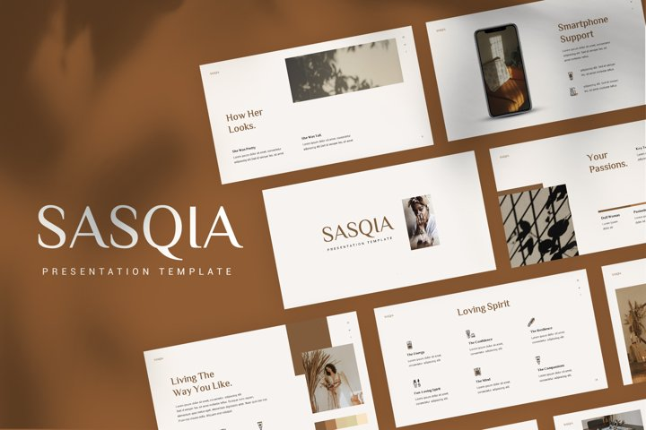 Sasqia - Minimalist Powerpoint Template