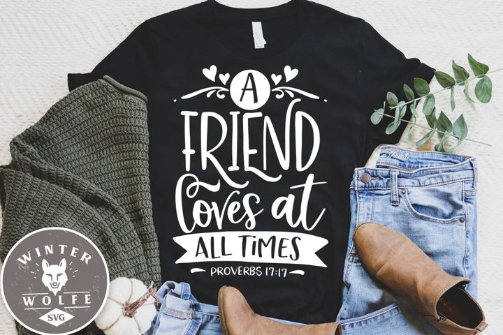 A friend loves at all times SVG DXF PNG EPS