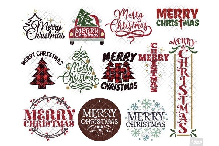 Merry Christmas Cut Files & Sublimation Vol. 2