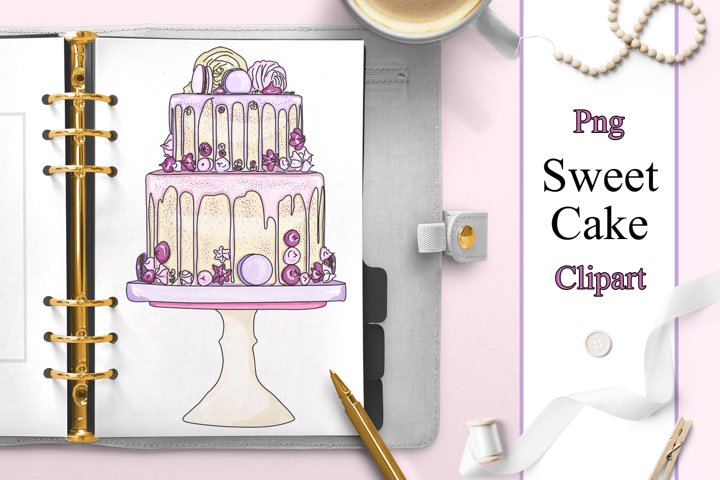 Sweet cakes clipart