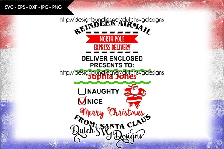Santa Delivery cut file, santa sack svg, christmas svg, xmas