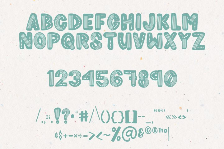 Rainboho | A Layered Abstract Font Family - Free Font Of The Week Design1