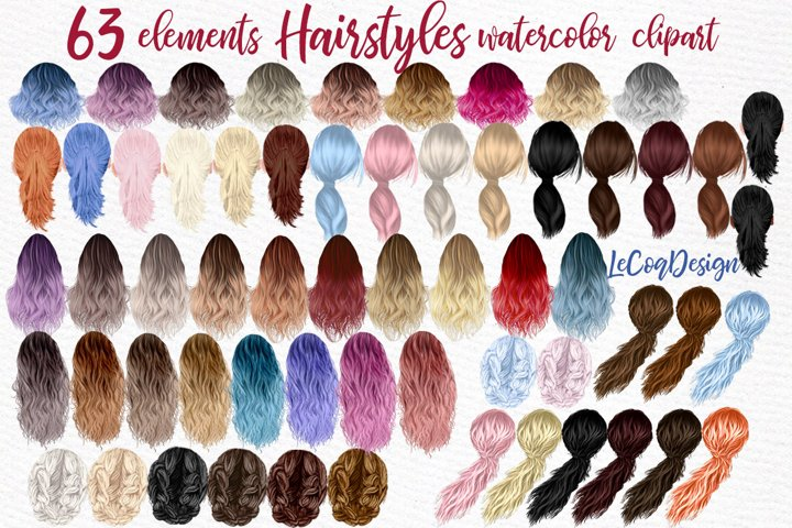Hairsty les clipart Ombre hairstyles Fashion girls hairstyle